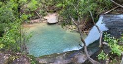 Beautiful Caney Creek located in Alabama
