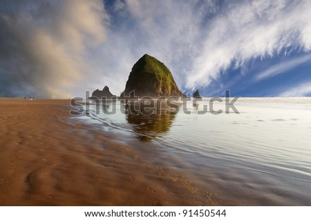 beautiful canon beach