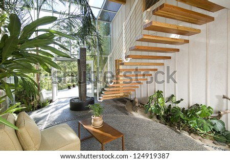 1000 images about perry residence on pinterest gravel for Residential atrium