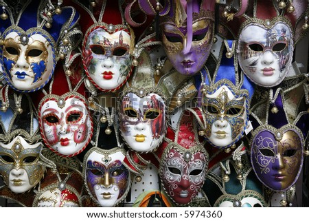 carnival masks - Venice,