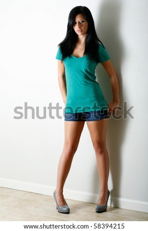 Beautiful casual full body look #58394215