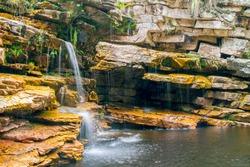 Beautiful caves and waterfalls located in Chapada Diamantina - Bahia - Brazil