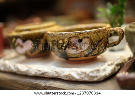 Beautiful Ceramics Photographs in Yeoju, Korea #1237070314