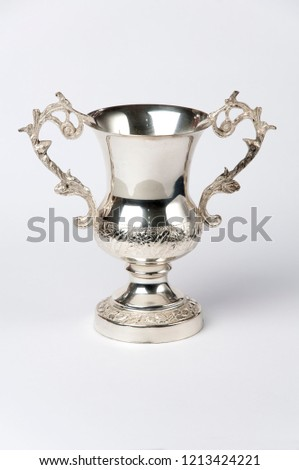 Beautiful champion silver cup for winners #1213424221