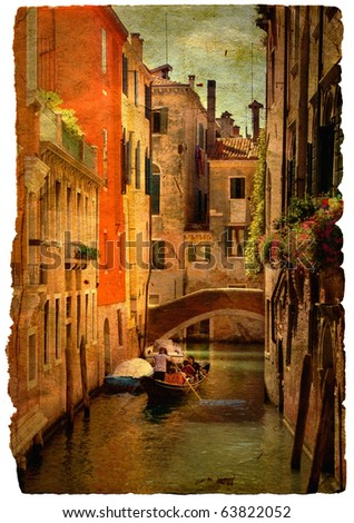 beautiful channels of venice ...