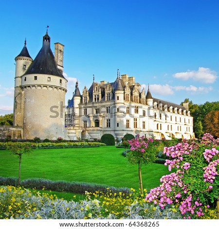 beautiful Chenonceau castle (from my castle collection)