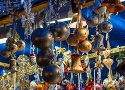 Beautiful Christmas market in Munich - Bavaria - Germany, Europe