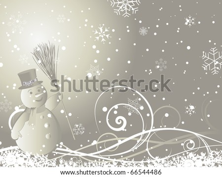 Stock Photo Beautiful Christmas (New Year) background for design use