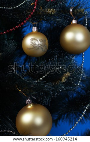 beautiful Christmas tree toys and other holiday accessories