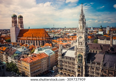 beautiful city centre view of...