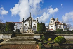 Beautiful city of Barcelos in Portugal