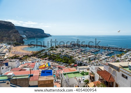 Beautiful City Puerto Mogan in Gran Canaria - Spain #405400954