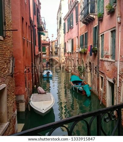 Beautiful city Venice in Italy #1333915847