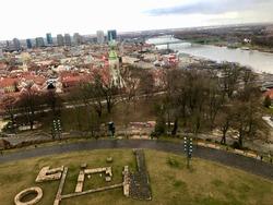 Beautiful Cityview in Bratislava city