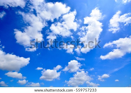 beautiful clouds and blue sky...