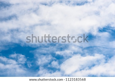 Royalty-free Blue sky white clouds blackground #461677573 Stock