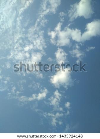 Beautiful cloudscape in the sky #1435924148