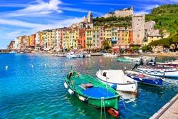 Beautiful coastal town Portovenere in