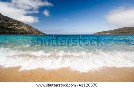 Beautiful Coastline in Tasmania, Australia