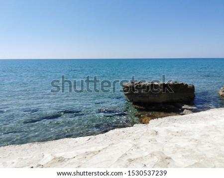 Beautiful coastline of the isle Kos