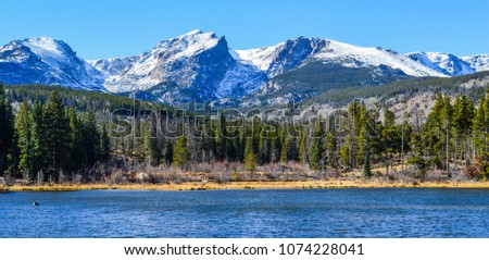 Beautiful Colorado Mountains in the Rockies #1074228041