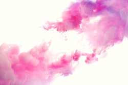 Beautiful colorful abstract pink and white background