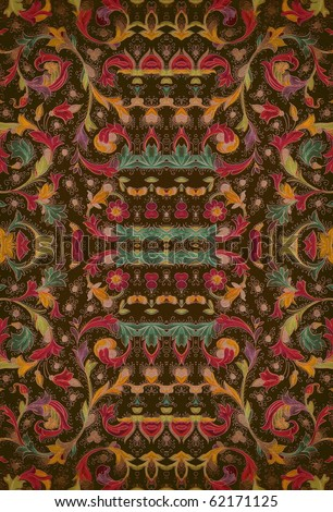 beautiful colorful arabic style oriental decorative texture. More of this motif & more decors in my port.