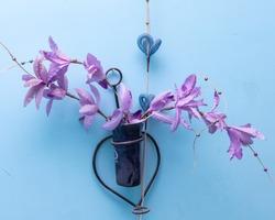 beautiful colorful decorative handmade artefact