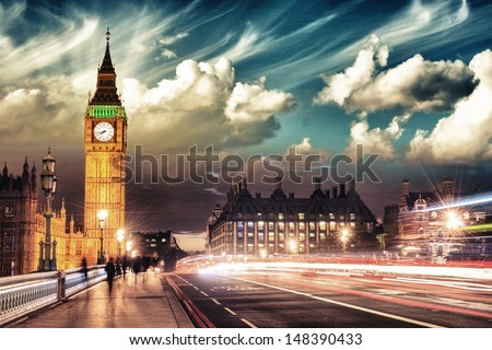 beautiful colors of big ben...