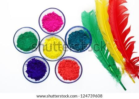 Beautiful colours of Gulal