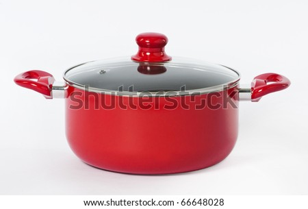 Beautiful cooking pot