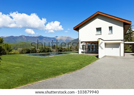 beautiful country house, outdoor