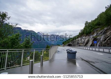 Beautiful countryside in Norway #1125855713