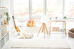 Beautiful, cozy and light children room