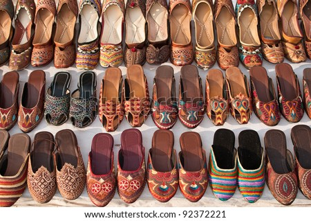 Beautiful crafted women's shoes made from camel leather for sale in