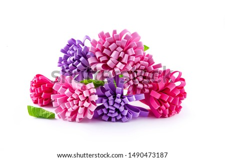Beautiful crafts bouquet dried flowers life