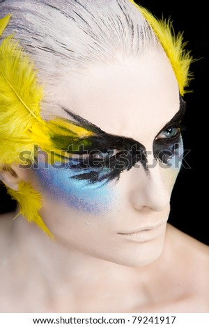 Beautiful Creative Fashion Make up