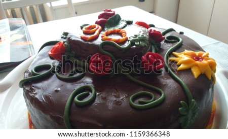 Beautiful Czech Cake For The 90th Birthday 1159366348