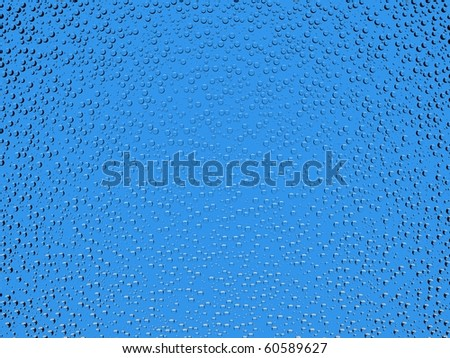 Beautiful 3d water drops background