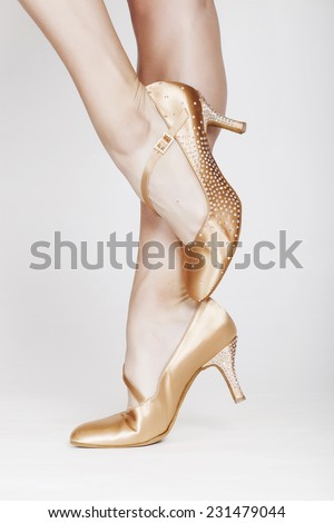 Beautiful dancer legs 12