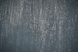 Beautiful Dark Blue Stucco Wall Background Grunge Decor Art Rough Stylized Texture Banner With Space For Text