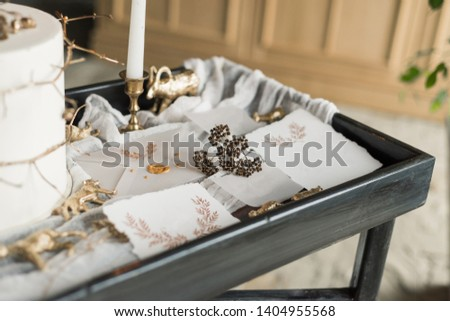 Beautiful Decorated Romantic Table for romantic date #1404955568