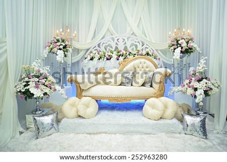 Beautiful decoration wedding ceremony