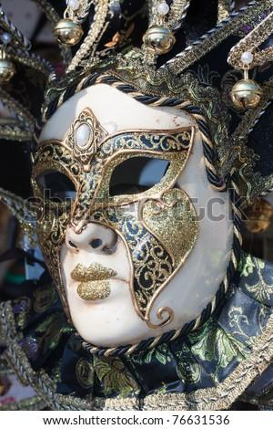 beautiful decorative venetian mask