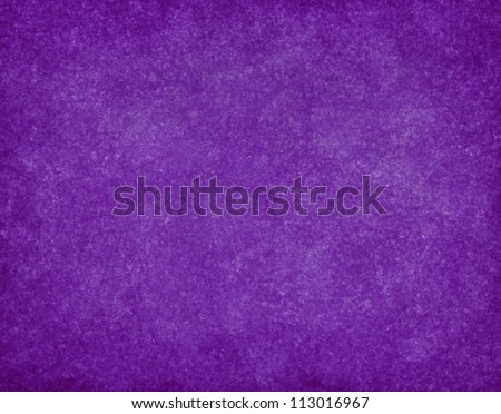Beautiful Deep Royal Purple Background With Old Blotchy Vintage