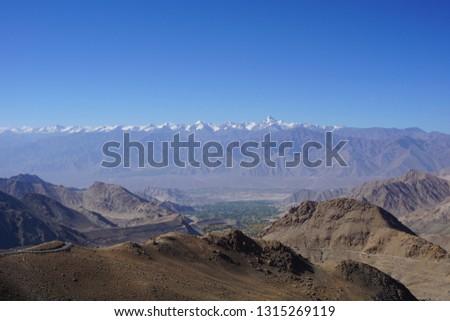 Beautiful desert mountains.