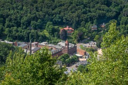 Beautiful Downtown Jim Thorpe, Pennsylvania