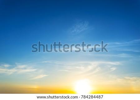 beautiful dramatic sunset background #784284487