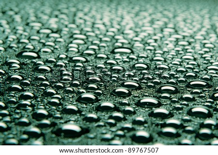 Beautiful drops of water fit for the background image