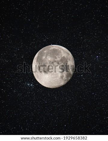 Beautiful Earth's Moon Photo HD